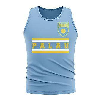 Palau Core Football Country Ärmlös Tee (Sky)