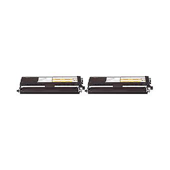 RudyTwos 2 x reemplazo de unidad hermano TN-421BK Toner negro Compatible con HL-L8260CDW, HL-L8360CDW, DCP-L8410CDN, L8410CDW de DCP, MFC-L8690CDW, MFC-L8900CDW,