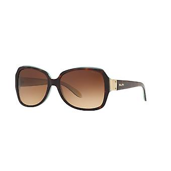 Ralph by Ralph Lauren RA5138 601/13 Tortoise-Tortquoise/Brown Gradient Sunglasses
