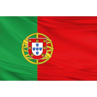 Portugal Flag 3ft x 5ft Polyester Fabric Football Sport Country