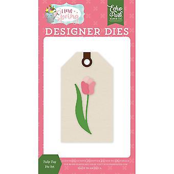 Echo Park Tulip Tag Dies