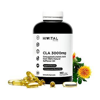 CLA Conjugated Linoleic Acid 3000 mg 180 softgels