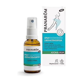 Orgaaninen pikalukitus Instant Spray 15 ml
