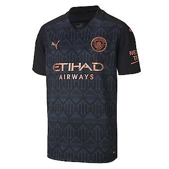 2020-2021 Manchester City Puma Away Football Shirt (Kids)