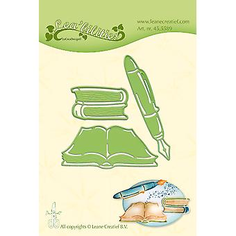 لين Creatief Lea'bilitie الكتب &; القلم