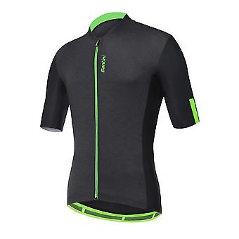 Santini Gravel Short Sleeve Jersey 2020: Black Xl