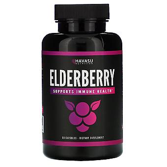 Havasu Nutrition, Elderberry, 60 Capsules
