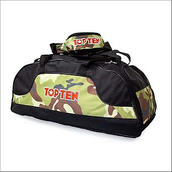 Top ten sportbag/backpack black/camo