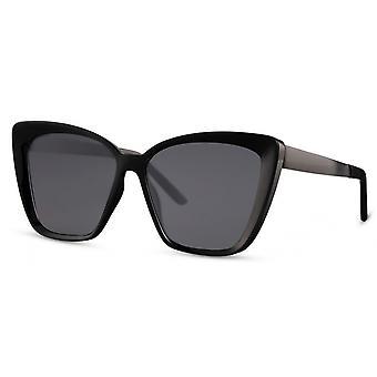 النظارات الشمسية المرأة فراشة كات. 3 أسود