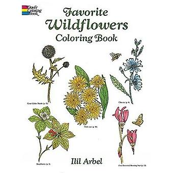 Favourite Wildflowers Colouring Book by Arbel & Ilil