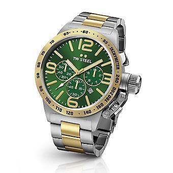 TW Steel CB63 Canteen Bracelet men's chronograph watch 45mm