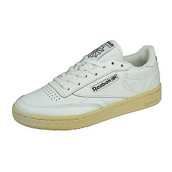 Reebok Club C 85 SU Womens Leather Trainers - White