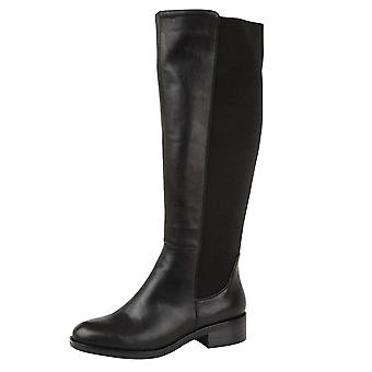 Onlineshoe Wide Calf Stretch Knee High Flat Riding Boot