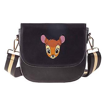 Bambi Olkalaukun muotokuva Tulosta uusi virallinen Disney Black