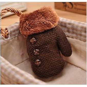 Boys Winter Thickening Warm Gloves - Heavy Knitting Solid Color