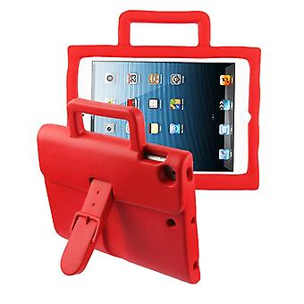 Briefcase Kids Drop-resistant Protector Cover for iPad Air (A1474,A1475,A1476) - Red