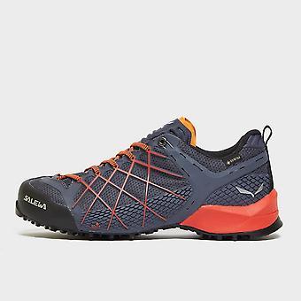 New Salewa Men's Wildfire GORE-TEX® Approach Shoes Orange