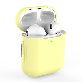 Soft Silicone  Airpods Case For Apple- Wireless Bluetooth Headphone Protective Case