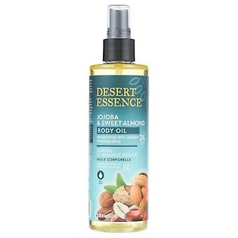 Desert Essence Jojoba & Sweet Almond Body Oil Spray, 8.28 Oz