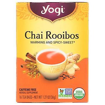 Yogi Yogi Tea- Chai Rooibos , NA, 16 Laukut