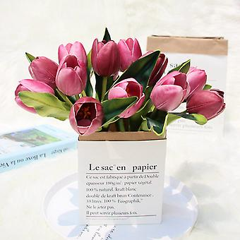 Simulering Tulip Blomst Familie Fest Dekorasjon