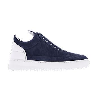 Filling Pieces Low Top Ripple Perforated Blue 2512010NAVY shoe