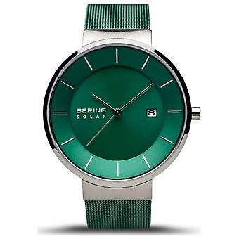Bering wristwatch men's charity silver polished/brushed 14639 charity