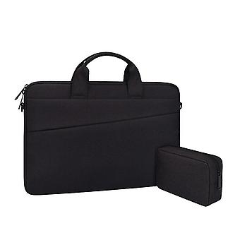 Laptop Sleeve Mål Datorskydd väska Kompatibel MACBOOK 14,1 tum (365x255x25mm