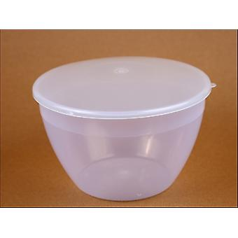Just Pudding Basins Pudding Basin & Lid 1/4pt 107CLEAR