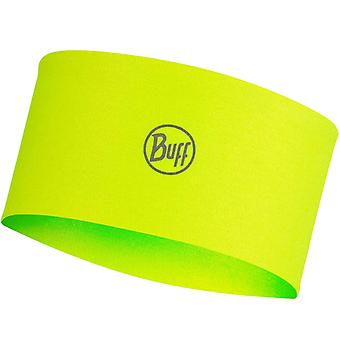 Buff Unisex Adultes CoolNet Active Sports Headwear Bandeau - Jaune massif