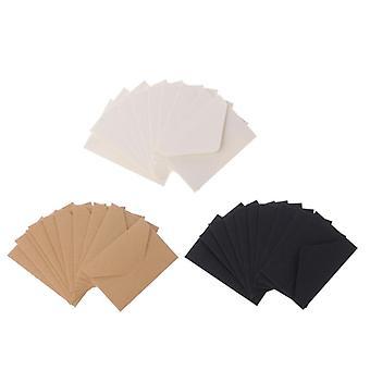 Envelopes de papel artesanal para cartão, scrapbooking