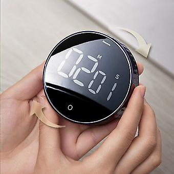 LED Digital Kitchen Timer For Cooking Shower Study Stopwatch Alarm Clock Magnetic Electronic Cooking Countdown Time Timer