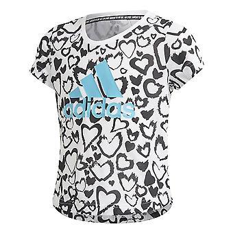Adidas musí mať grafické GE0937 univerzálne po celý rok muži t-shirt
