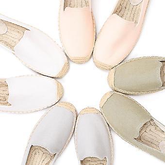 أحذية عارضة مسطحة، السيدات الصيف المطاط، زلة على الشقق في الهواء الطلق تنفس