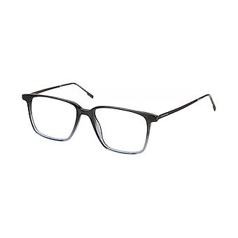 Moleskine MO1109 80 Crystal Black And Grey Optical Glasses