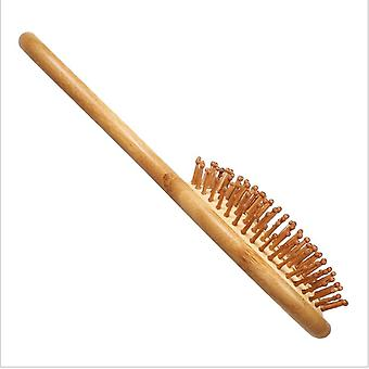 Airbag Massage Comb Nan Bamboo Bristle Needle Head Massage Hairdressing Anti-static Wooden Comb