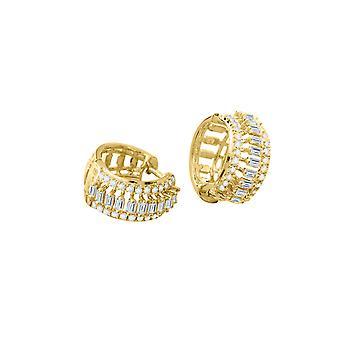 Korvakoru Firenze 18K kultaa ja timantteja