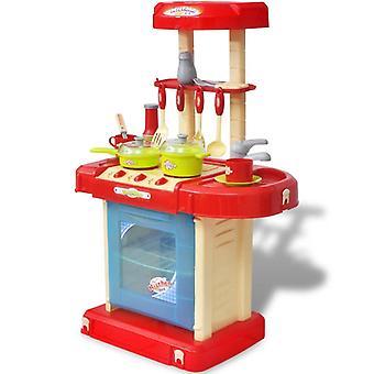 Barnkök Lek kök med ljus- och ljudeffekter