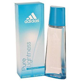 Adidas ren lyshet Eau De Toilette Spray av Adidas 1,7 oz Eau De Toilette Spray