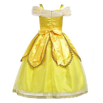 Princess Belle ujjatlan Cosplay ruha