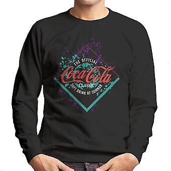 コカ・コーラ 夏のカラフルなスプラッシュメン&アポスの公式ソフトドリンク;sスウェットシャツ