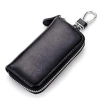 Echtes Leder Unisex Schlüssel Brieftasche