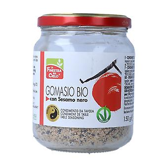 Gomasio with black sesame 150 g of powder