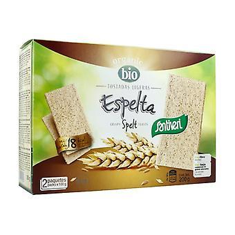 Spelt Light Toasts Bio 200 g