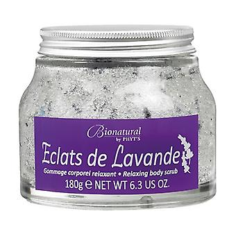 Body Scrub Lavender Shards Relaxing Getaway Bionatural Jar 180 g