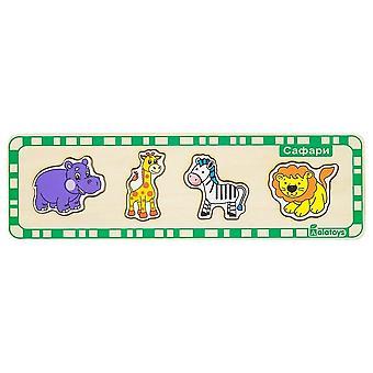 "Alatoys Wooden  Puzzles ""Safari"""