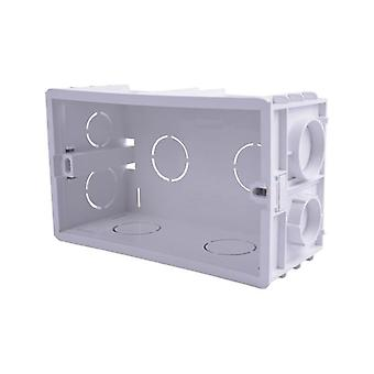 Wall Mounting Box Internal Cassette Standard Switch And Socket