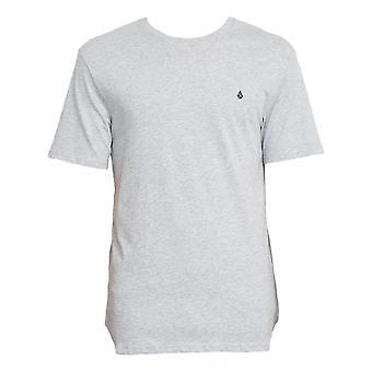 Volcom Stone Blanks T-Shirt - Heather Grey