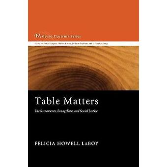 Table Matters by Felicia Howell Laboy - 9781620324837 Book