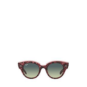 Ray-Ban RB2192 havana su occhiali da sole donna viola trasparenti
